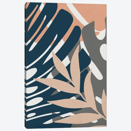 Monstera Details Canvas Print #CTI180} by Emanuela Carratoni Canvas Art