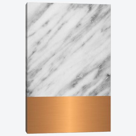 Carrara Marble With Copper Canvas Print #CTI18} by Emanuela Carratoni Canvas Print