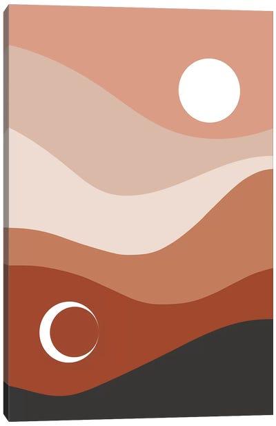 Moon And Sun Canvas Art Print