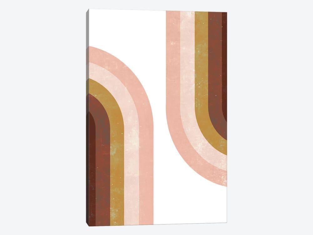 Double Vintage Rainbow by Emanuela Carratoni 1-piece Canvas Print