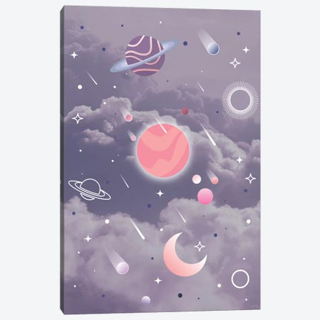Space Clouds Canvas Print #CTI213} by Emanuela Carratoni Canvas Artwork