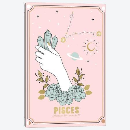 Pisces Zodiac Sign Canvas Print #CTI221} by Emanuela Carratoni Canvas Art Print