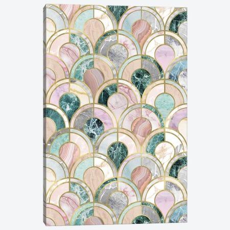 Marble Inlays Canvas Print #CTI225} by Emanuela Carratoni Canvas Wall Art