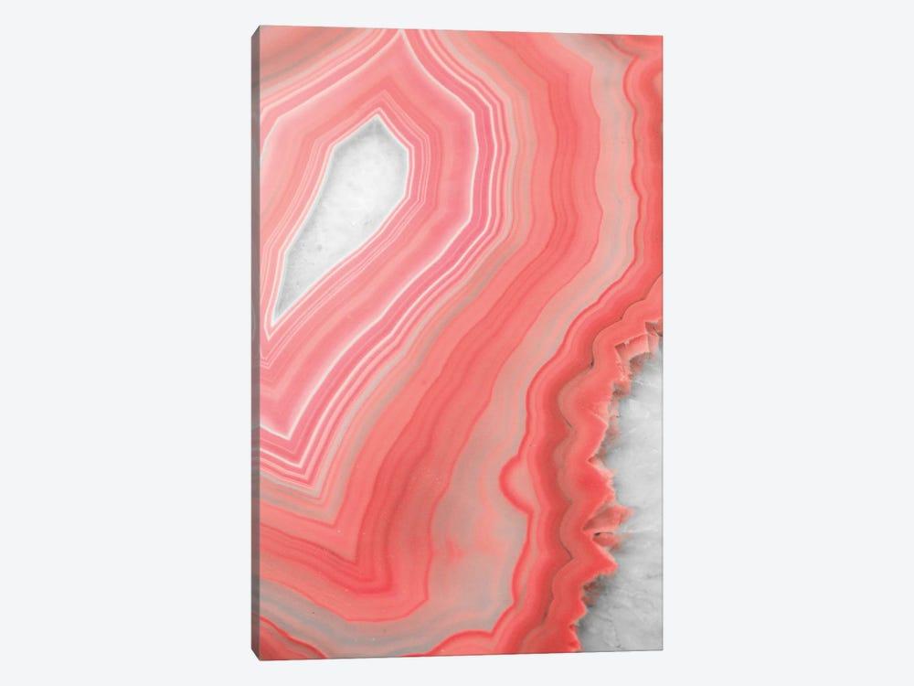 Coral Agate by Emanuela Carratoni 1-piece Canvas Art Print