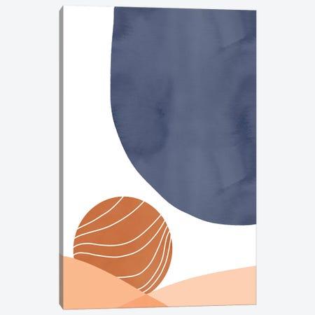 Blue On Sunset Canvas Print #CTI230} by Emanuela Carratoni Canvas Art