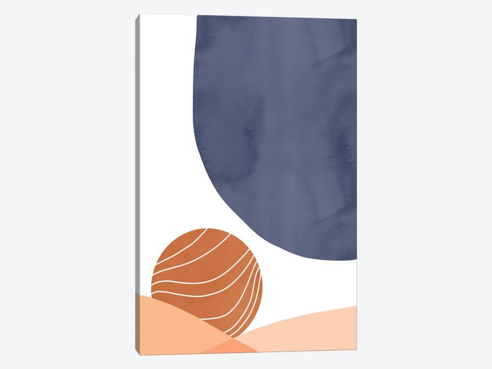 Blue On Sunset by Emanuela Carratoni 1-piece Canvas Artwork
