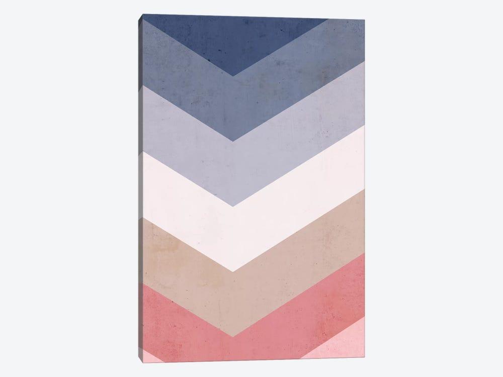 Classic Blue Palette by Emanuela Carratoni 1-piece Canvas Artwork