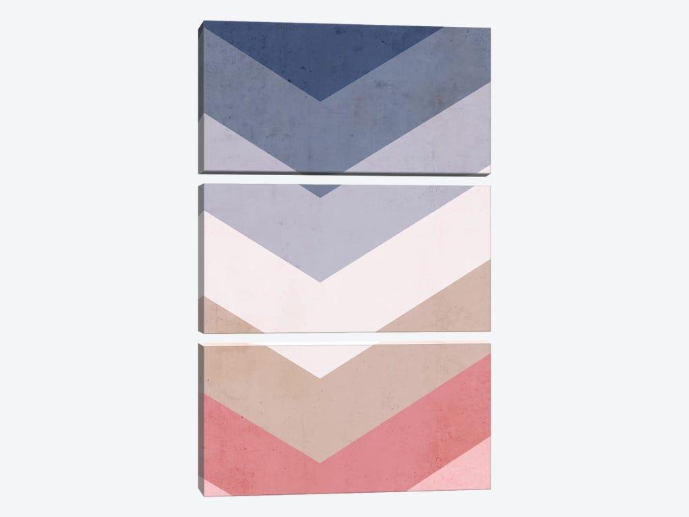Classic Blue Palette by Emanuela Carratoni 3-piece Canvas Art