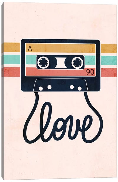 Love Songs Canvas Art Print