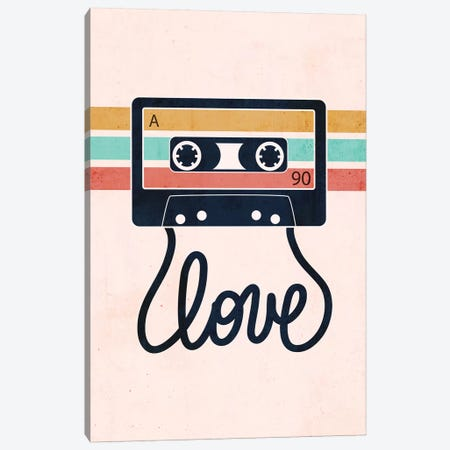 Love Songs Canvas Print #CTI233} by Emanuela Carratoni Canvas Art