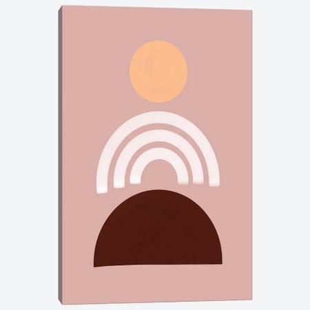 Sunset On Pink Canvas Print #CTI235} by Emanuela Carratoni Canvas Print