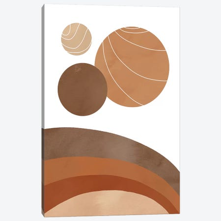 Baked Earth Worlds Canvas Print #CTI237} by Emanuela Carratoni Art Print