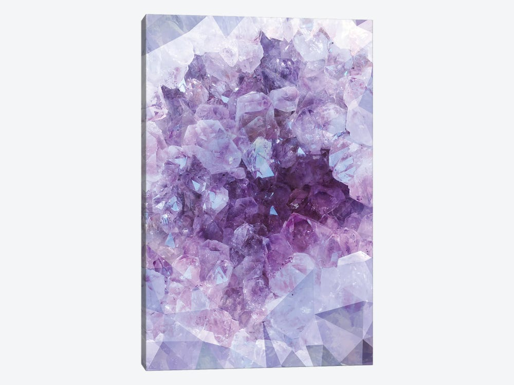 Crystal Gemstone by Emanuela Carratoni 1-piece Canvas Wall Art
