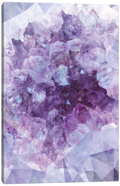 Crystal Gemstone Canvas Art Print