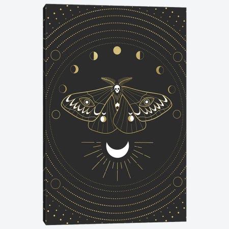 Moon Mothman Canvas Print #CTI241} by Emanuela Carratoni Art Print