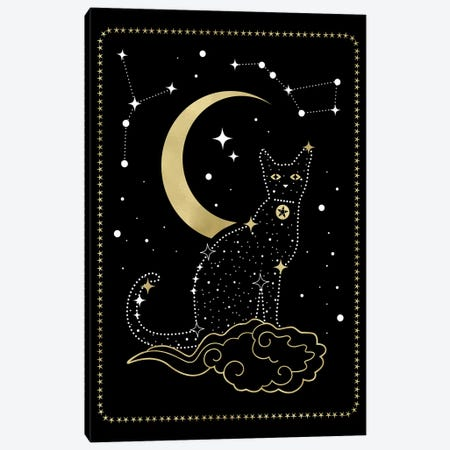 Cat Constellation Canvas Print #CTI244} by Emanuela Carratoni Canvas Art