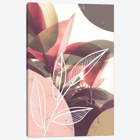 Pastel Greenery Theme Canvas Print #CTI253} by Emanuela Carratoni Canvas Art