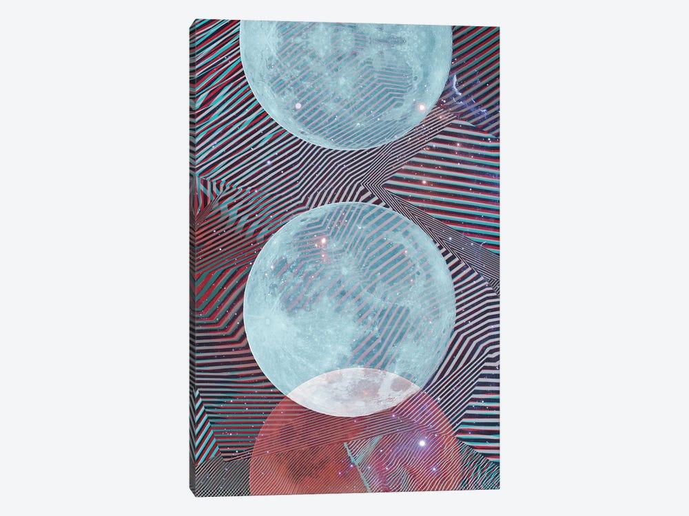 Techno Moon by Emanuela Carratoni 1-piece Art Print