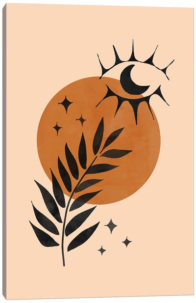 Into the Sun Canvas Art Print