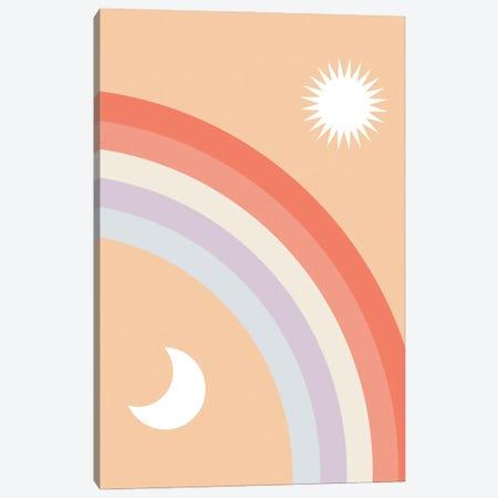 Rainbow Moon and Sun Canvas Print #CTI264} by Emanuela Carratoni Canvas Art