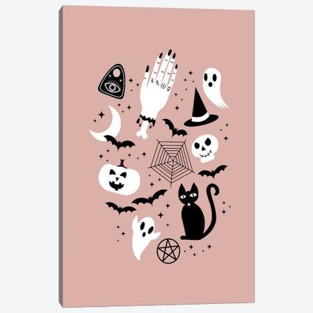 Halloween Strange Things Canvas Print #CTI268} by Emanuela Carratoni Art Print
