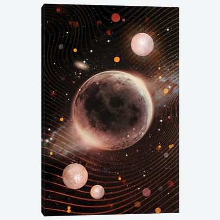 Gold Galaxy Canvas Print #CTI269} by Emanuela Carratoni Canvas Print