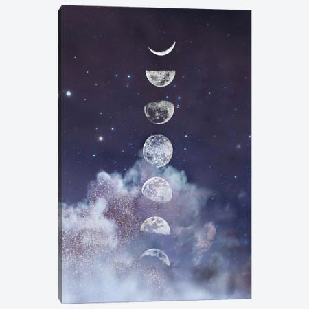 Moon in the Sky with Diamonds Canvas Print #CTI272} by Emanuela Carratoni Canvas Wall Art