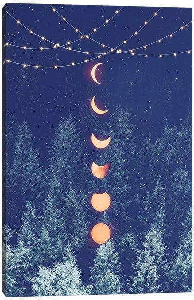 Holiday Night Canvas Art Print