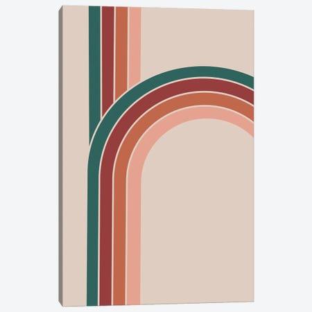 Vintage Rainbows Canvas Print #CTI275} by Emanuela Carratoni Art Print