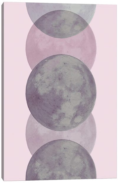 Ethereal Moon Canvas Art Print