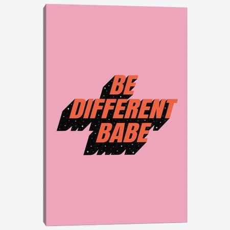 Be Different Babe Canvas Print #CTI290} by Emanuela Carratoni Canvas Artwork
