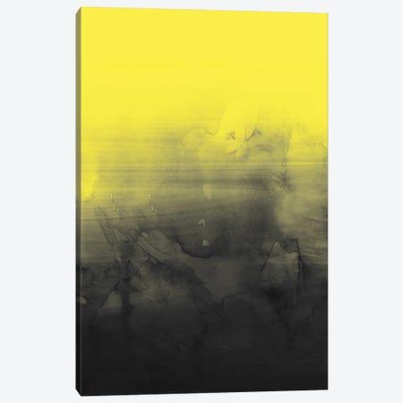 Abstract Yellow And Gray Canvas Print #CTI292} by Emanuela Carratoni Canvas Wall Art