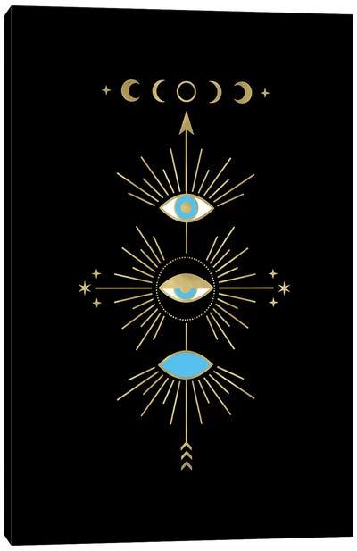 Evil Totem Eye Canvas Art Print