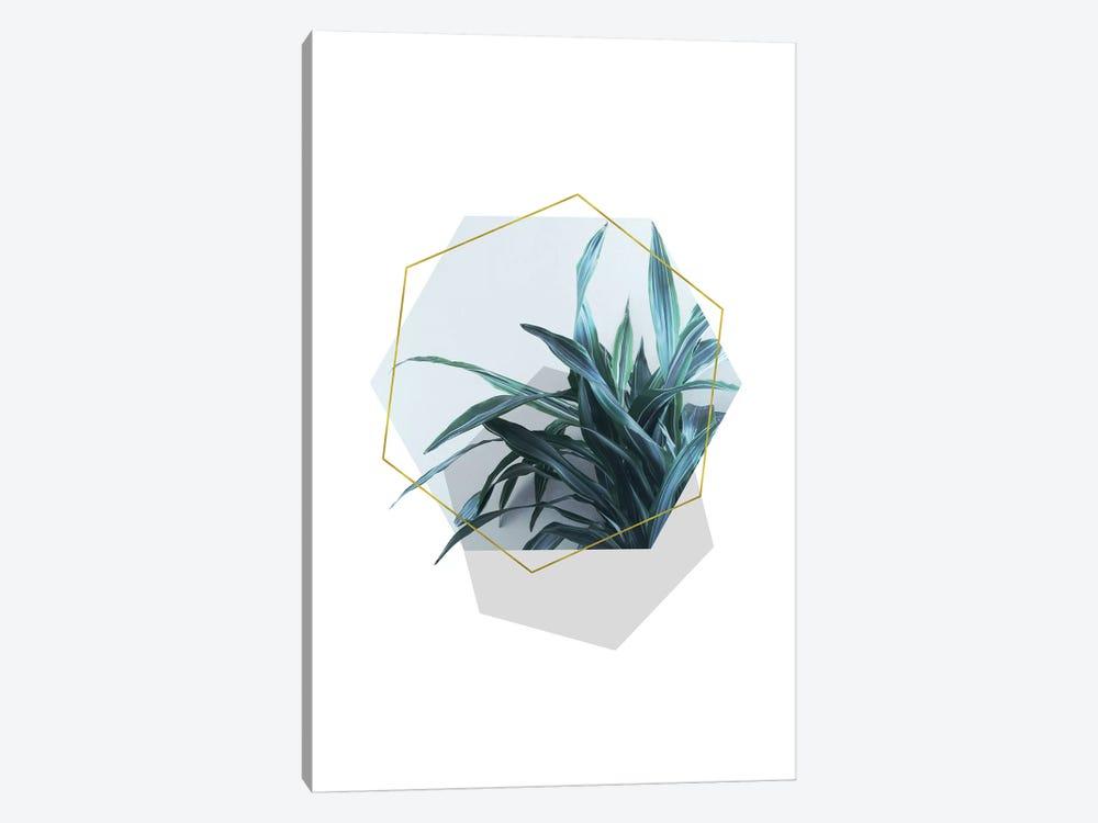 Geometric Jungle by Emanuela Carratoni 1-piece Canvas Artwork