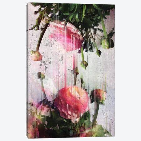 Glitched Buttercups Canvas Print #CTI37} by Emanuela Carratoni Canvas Art
