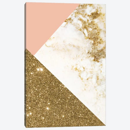 Gold Marble Collage Canvas Print #CTI40} by Emanuela Carratoni Canvas Wall Art