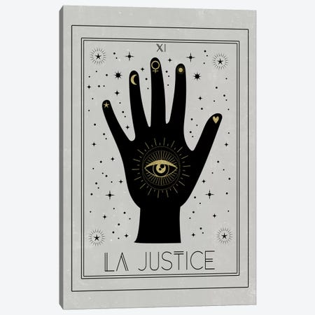 La Justice Canvas Print #CTI46} by Emanuela Carratoni Canvas Art Print