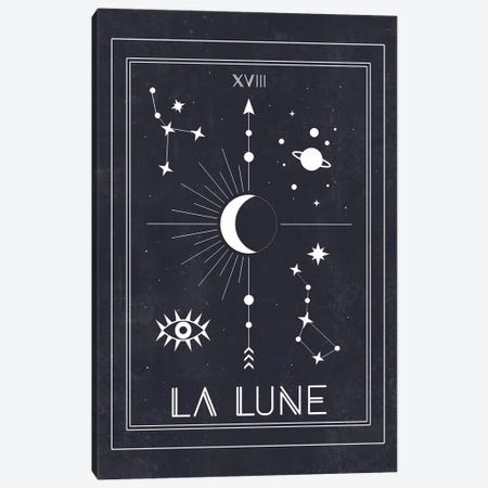 La Lune Canvas Print #CTI47} by Emanuela Carratoni Art Print