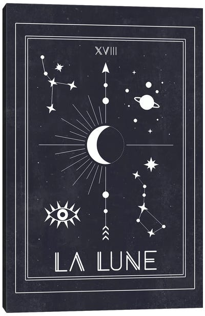 La Lune Canvas Art Print