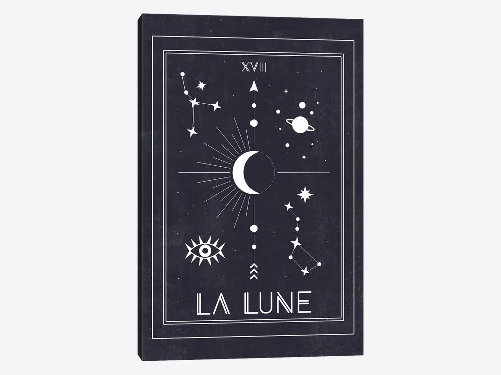 La Lune by Emanuela Carratoni 1-piece Canvas Artwork