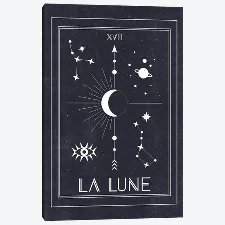 La Lune 3-Piece Canvas #CTI47} by Emanuela Carratoni Art Print