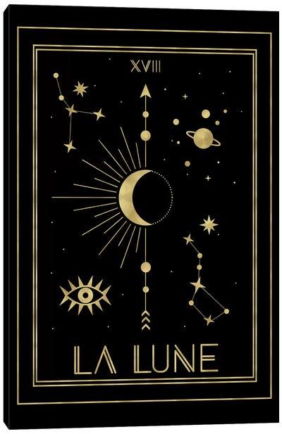 La Lune Gold Edition Canvas Art Print