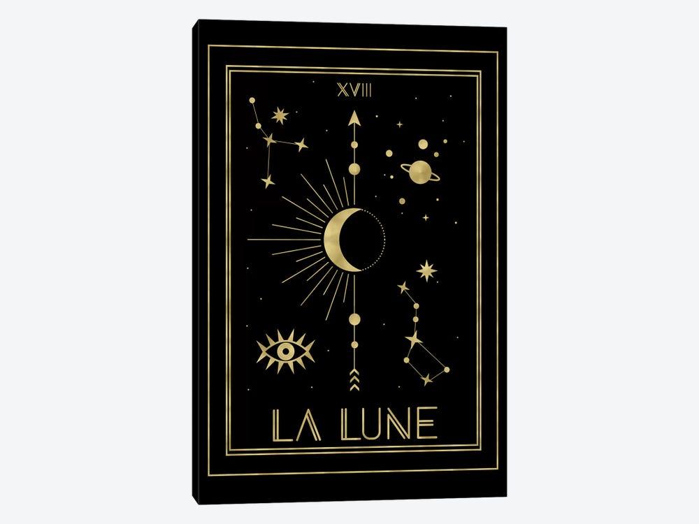 La Lune Gold Edition by Emanuela Carratoni 1-piece Canvas Art Print