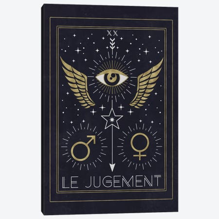 Le Jugement Canvas Print #CTI51} by Emanuela Carratoni Canvas Print