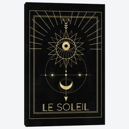 Le Soleil Canvas Print #CTI52} by Emanuela Carratoni Art Print