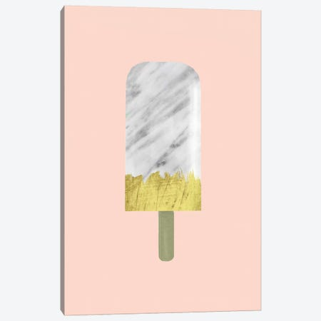 Marble And Gold Popsicle Canvas Print #CTI57} by Emanuela Carratoni Canvas Wall Art