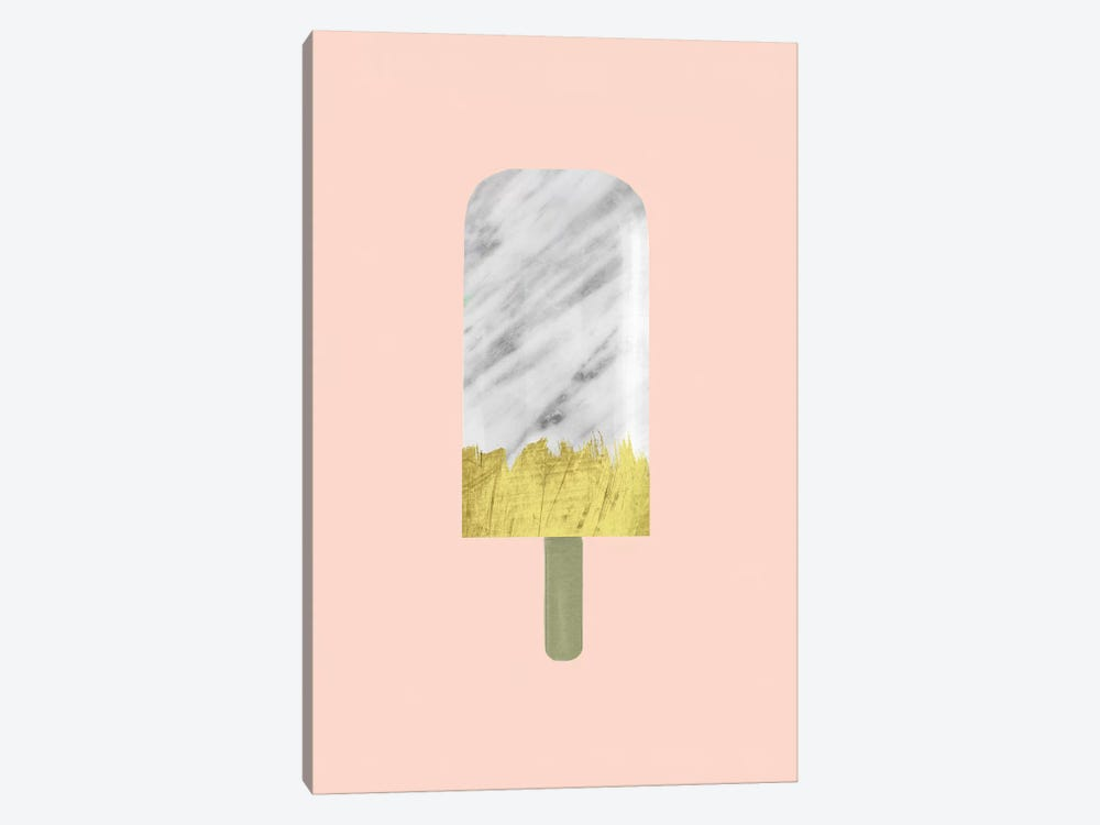 Marble And Gold Popsicle by Emanuela Carratoni 1-piece Art Print