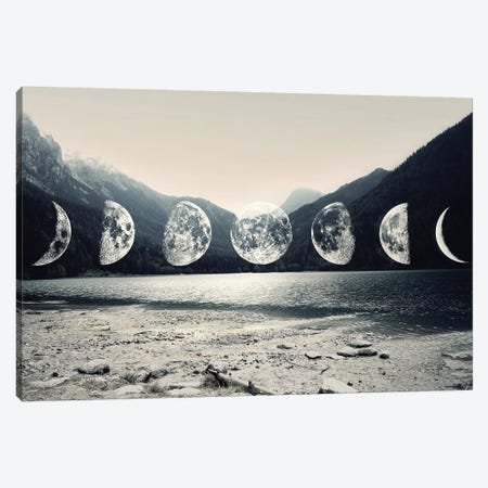 Moonlight Mountains Canvas Print #CTI59} by Emanuela Carratoni Art Print