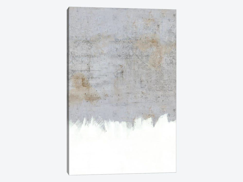 Paint On Raw Concrete by Emanuela Carratoni 1-piece Canvas Wall Art