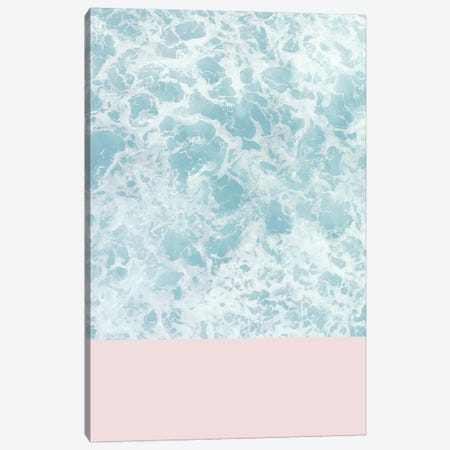 Pink On The Sea 3-Piece Canvas #CTI73} by Emanuela Carratoni Art Print